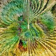 Shades Of Green Poster