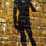 Shadow Of Michaelangelo's David Poster