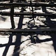 Shadows On Table Mountain Poster