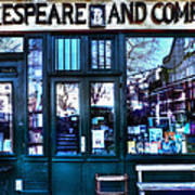 Shakespeare And Company Paris France Poster