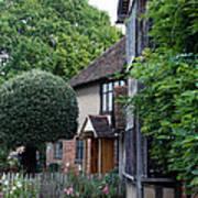 Shakespeare's Back Garden Poster