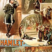 Shakespeare's Hamlet 1884 Poster