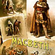 Shakespeare's Macbeth 1884 Poster