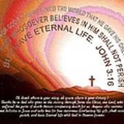 Jesus, Cross 117 Poster