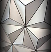 Shapes In Steel Poster
