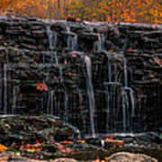 Sharon Woods Waterfall Poster