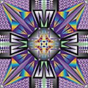 Sharp Tile Art Poster