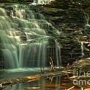 Shawnee Falls In The Spring Poster
