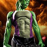 She-hulk 2 Poster by Pete Tapang