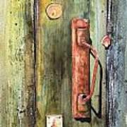 Shed Door Poster