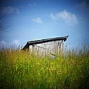 Shed In Field Poster by Joyce Kimble Smith