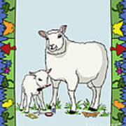 Sheep Artist Sheep Art II Poster