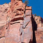 Sheer Canyon Walls Poster