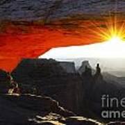 Sheer Magic Mesa Arch Utah Poster