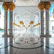 Sheikh Zayed Grand Mosque Poster