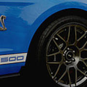 Shelby Cobra Gt 500 / Ford Poster
