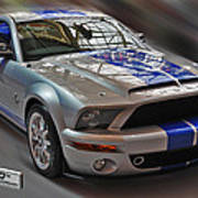 Shelby Gt500kr 2008 Poster