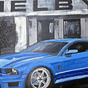 Shelby Mustang Poster