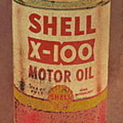 Shell Motor Oil Poster by Michelle Calkins