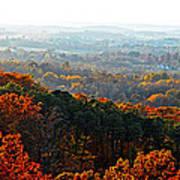 Shenandoah Valley Fall Panorama Poster