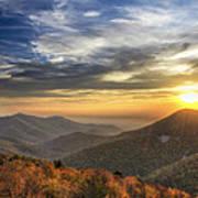 Shenandoah Virginia Sunset Poster