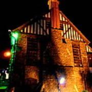 Shimla At Night Poster