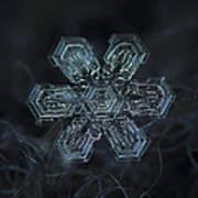Snowflake Photo - Shine Poster