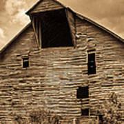 Shingle Barn Sepia 1 Poster