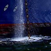 Ship At Anchor Poster