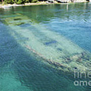 Shipwreck In Big Tub Harbour Poster