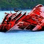 Chile Shipwreck Poster