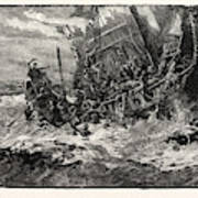 Shipwreck Of Prince William Poster