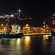Shipyards 2 Callao Port Lima Peru Poster