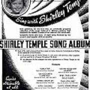 Shirley Temple Song Album Poster