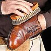 Shoe Polisher Poster