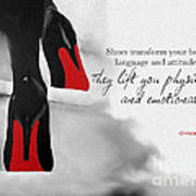 Shoes Transform You Poster
