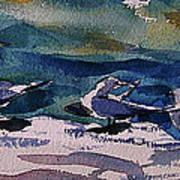 Shoreline Birds Iv Poster