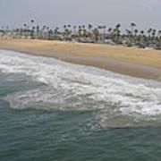 Shoreline Newport Beach Poster