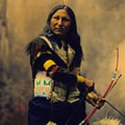 Shout At Oglala Sioux  Poster