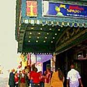 Showtime Toronto's Broadway Monty Python Spamalot Theatre District The Plays The Thing City Scenes Poster