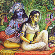 Shringar Lila Poster by Vrindavan Das