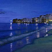Sicilian Sunset Poster
