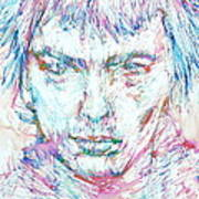 Sid Vicious - Colored Pens Portrait Poster