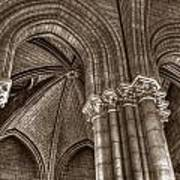 Side Vault In Notre Dame Poster