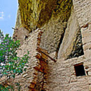Side Window In Spruce Tree House On Chapin Mesa In Mesa Verde National Park-colorado  Poster