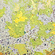 Sidewalk Abstract-16 Poster