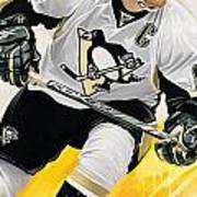 Sidney Crosby Artwork Poster
