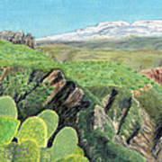 Sierra De Gador Poster