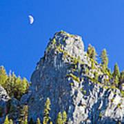 Sierra Moonrise Poster