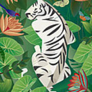 Siesta Del Tigre - Limited Edition 2 Of 15 Poster